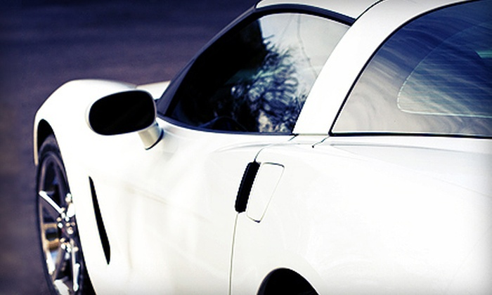 Auto Tint City - Dearborn Heights: Window Tinting for Two Windows or Super-Gard Bubble Vehicle-Preservation Package at Auto Tint City (Up to 73% Off)