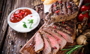 The Blazin Grill: €50 or €100 Toward Food and Drink for Two or Four at The Blazin Grill (Up to 51% Off)
