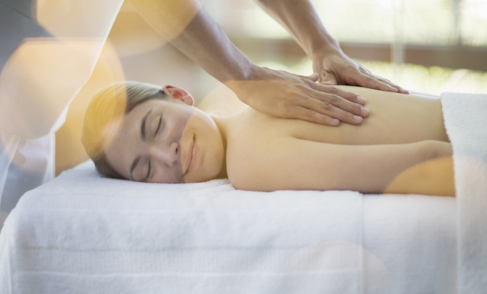 Massage ($30), Massage with Scrub ($40), or Massage, Facial and Brow Shape ($69) at Tranquility Spa (Up to $155 Value)