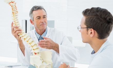 Chiropractic Consultation and One or Two Follow-Up Treatment Sessions at The Chiropractic Centre (71% Off)