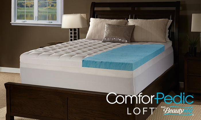Comforpedic Loft From Beautyrest 4 5 Quot Gel Memory Foam And
