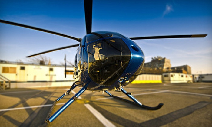 Wings Air - West Harrison: $139 for a Private 30-minute Helicopter-Piloting Experience from Wings Air ($250 Value)