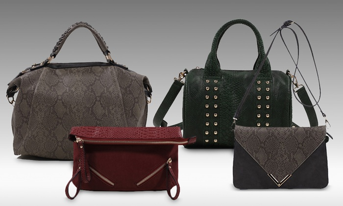 Emperia Faux-Leather Handbags | Groupon Goods