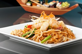 Lime Leaf Thai: $2 Buys You a Coupon for Free Glass Of House Wine With Purchase Of Entree (Dine In Only) at Lime Leaf Thai