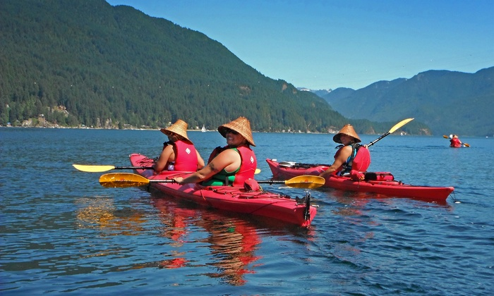 Takaya Tours - Belcarra Regional Park: Two-Hour Single- or Tandem-Kayak Rental from Takaya Tours Inc. (Up to 51% Off)