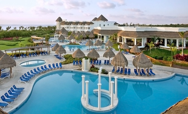 TripAlertz wants you to check out ✈ 5-Night Grand Riviera Princess Resort Stay w/Air, Taxes & Fees. Price per Person Based on Dbl. Occ.; 1 Groupon/Person  ✈ All-Inclusive Playa del Carmen Vacation with Airfare - All-inclusive Mexico Vacation