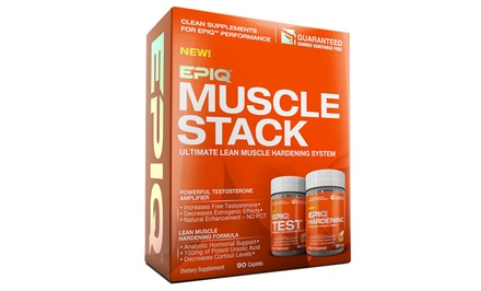 Epiq Muscle Stack; Ultimate Lean Muscle Hardening System
