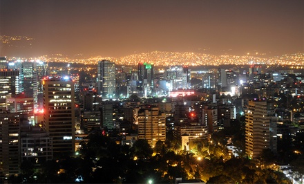 2-, 3-, 4-, 5-, or 7-Night Stay for Two in a Deluxe City-View Room at  Krystal Grand Reforma Uno Mexico City