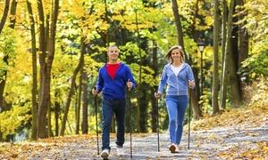 Daniela Perilli Allegramente Walking: Corso di nordic walking o di fitwalking per una o 2 persone con Allegramente Walking (sconto fino a 80%)