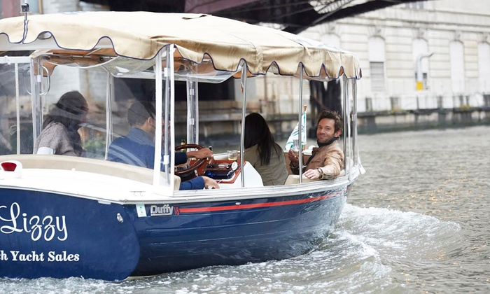 Chicago Electric Boat Company - Chicago: $99 for a Two-Hour Electric Boat Rental from Chicago Electric Boat Company ($300 Value)