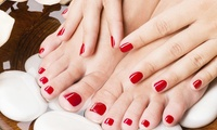 Gel Manicure, Pedicure or Both at Higham Hair and Beauty (Up to 52% Off)