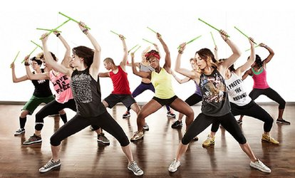 Five or Ten Zumba, Pound Rockout or Bounce Classes at Ritmo Studio (Up to 61% Off)