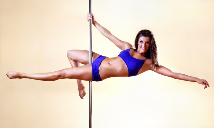 Royal Fitness - Levittown: Four Weeks of Unlimited Pole Dancing Classes at Royal Fitness (65% Off)