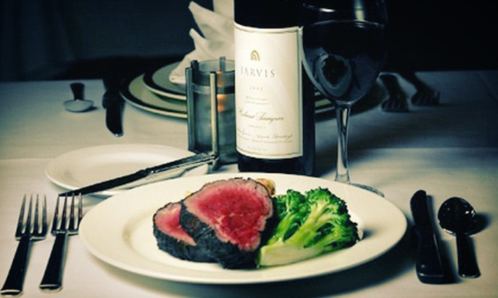 The Tenderloin Room - Central West End: Steakhouse Dinner for Two or Four at The Tenderloin Room (Up to 55% Off)
