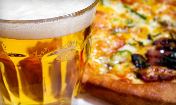 Bar 153 Sports Bar and Grill - Garden City: Pizza and Beer for Two, Four, or Six at Bar 153 Sports Bar and Grill (51% Off)