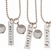 75% Off a Hand-Stamped Necklace