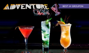 Adventure Bar & Lounge: Three (£12) or Six (£22) Cocktails at Adventure Bar, Three Locations (Up to 67% Off)