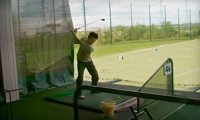 Launch Golf Centre - Vaughan: Two Hours on Driving Range, Five Buckets of Balls, or Private Lesson at Launch Golf Centre in Vaughan (Up to 57% Off)