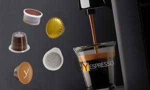 Boutique Yespresso Caffè: Buono fino a 40 € su capsule compatibili Nespresso, Lavazza, Nescafè dolce gusto di Yespresso con spedizione gratuita
