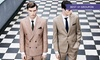 Harris and zei - Multiple Locations: Bespoke Two-Piece Suit from £399 at Harris and Zei (Up to 60% Off)