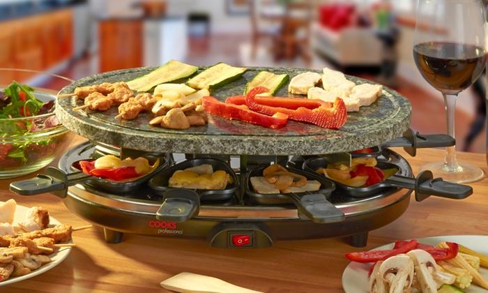 cooks professional raclette grill groupon goods. Black Bedroom Furniture Sets. Home Design Ideas