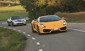 Conducción en 4 coches a elegir con opción a alojamiento, desayuno, cena o velada romántica desde 29 € en Hccsportcars