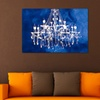 """24"""" x 36"""" Chandeliers Printed on Gallery-Wrapped Canvas"""