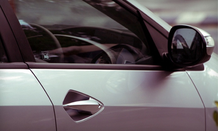 The Accutint - Rancho Cucamonga: Tinting Services for Five Car or SUV Windows at The Accutint (Up to 51% Off)