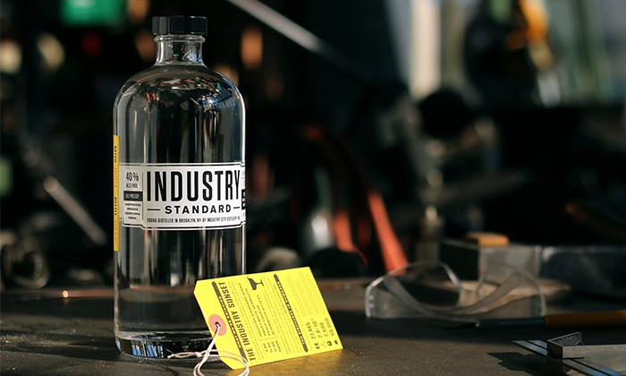 Industry City Distillery - Brooklyn : Distillery Tour and Tasting with Glasses and Food for Two or Four at Industry City Distillery (Up to 42% Off)