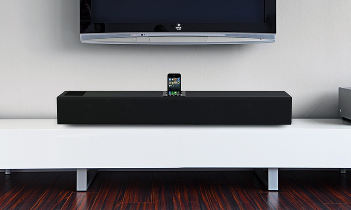 Pyle Sound Bar with iPod/iPhone Dock or Bluetooth: Pyle Sound Bar with iPod/iPhone Dock or Bluetooth from $84.99–$99.99. Free Returns.