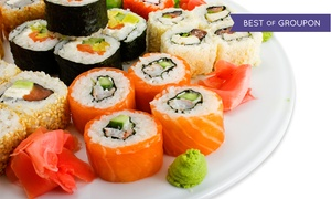 California Rollin': Sushi for Two or Four at California Rollin' (Up to 60% Off)
