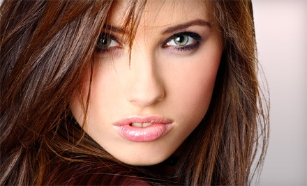 Haircut and Style with Optional Partial or Full Highlights at Hair Unlimited (Up to 51% Off)