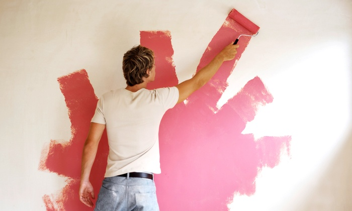 Painting for One, Two, or Three Rooms with Client- or Company-Supplied Paint from A+ Painting (Up to 63% Off)