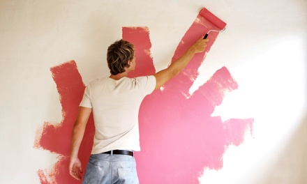 Painting for One, Two, or Three Rooms with Client- or Company-Supplied Paint from A+ Painting (Up to 68% Off)