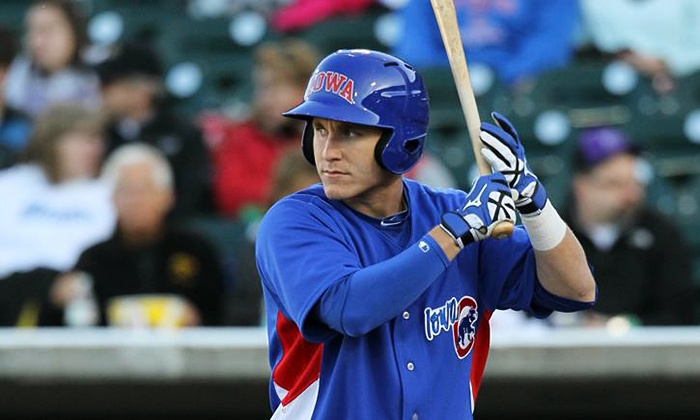 Iowa Cubs - Principal Park: $25 for a 10-Ticket Booklet for Iowa Cubs Minor League Baseball Games at Principal Park ($50 Value)