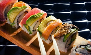Kugo Steakhouse & Sushi Bar: Japanese Dinner for Two or Four or Lunch for Two at Kugo Steakhouse & Sushi Bar in Lebanon (Up to 53% Off)