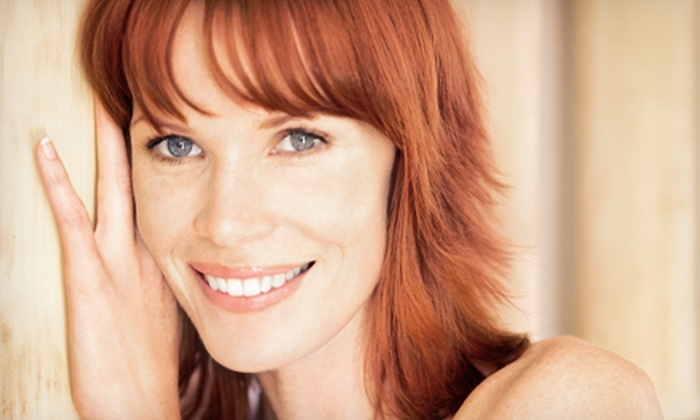 Divine Hair Design - Mesa: Haircut and Style with Conditioning Treatment, Color, or Partial Highlights at Divine Hair Design (Up to 69% Off)