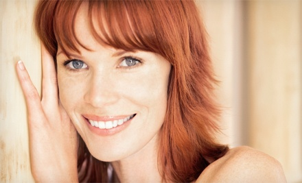 Haircut and Style with Conditioning Treatment, Color, or Partial Highlights at Divine Hair Design (Up to 69% Off)