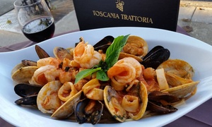 Toscania Trattoria: BYOB Italian Dinner for Two or Four or Lunch at Toscania Trattoria (Up to 50% Off)