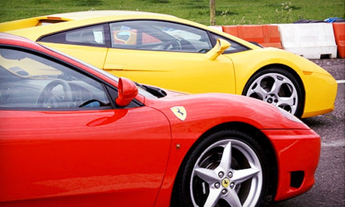 Exotic Car Tours - Cayuga: Exotic-Car Track Experience at Mosport or Half-Hour Highway Test Drive from Exotic Car Tours (Up to 57% Off)