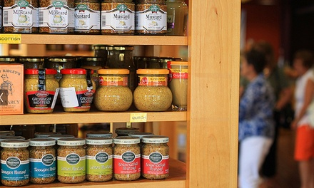 Guided Tour for Two or Four Including Personalized Mustard Case at the National Mustard Museum (Up to 50% Off)