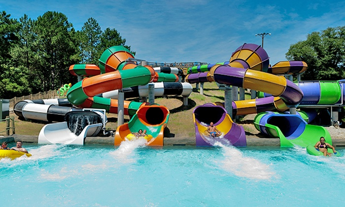 Ocean Breeze Waterpark - Ocean Breeze Waterpark: Ocean Breeze Waterpark Visit for Two or Four with Combo Meals and Drinks (Up to 46% Off)