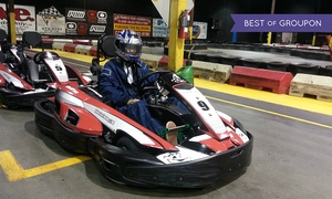 Indoor Kart Racing @ TBC: Exclusive Group Go-Kart Racing for up to 12 People at Indoor Kart Racing @ TBC (40% Off)