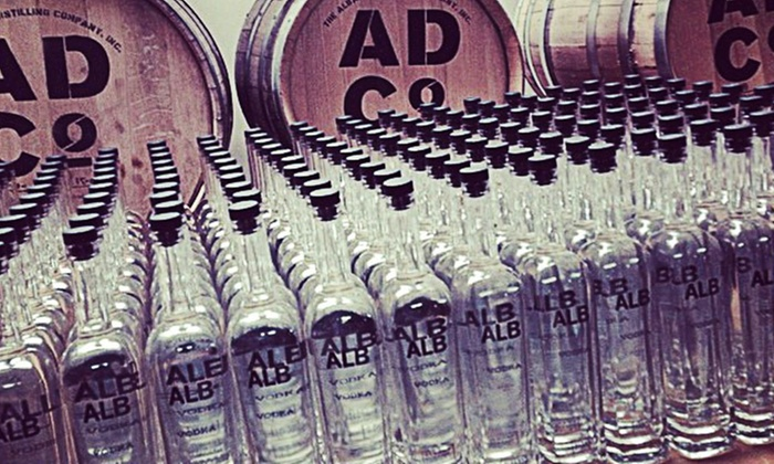The Albany Distilling Company - Arbor Hill: Distillery Tour and Glasses for Two or Four at The Albany Distilling Company (Up to 55% Off)