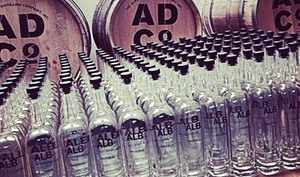 The Albany Distilling Company: Distillery Tour and Glasses for Two or Four at The Albany Distilling Company (Up to 55% Off)