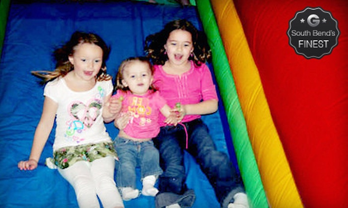 Concord Bounce and Bremen Bounce - Multiple Locations: Bounce Session for Two or Four, Five Bounce Sessions or Birthday Party at Concord Bounce & Bremen Bounce (Up to 53% Off)