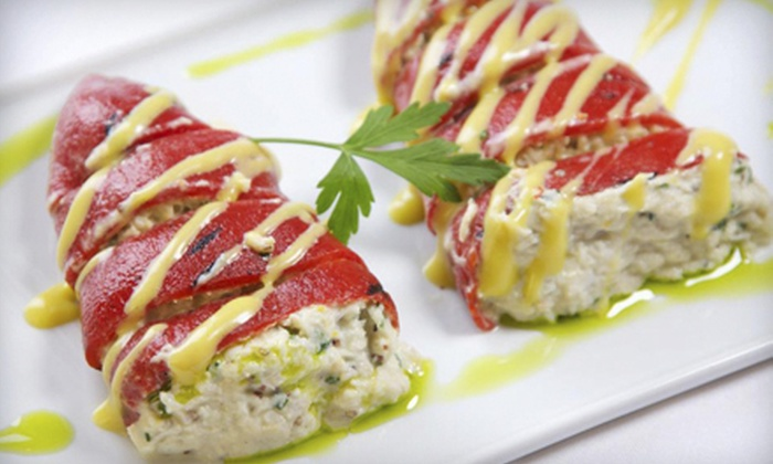 Marbella Tapas, Bar and Lounge - Las Vegas: Private Party for Eight with Dinner or $20 for $40 Worth of Spanish, Mediterranean, and South American Tapas