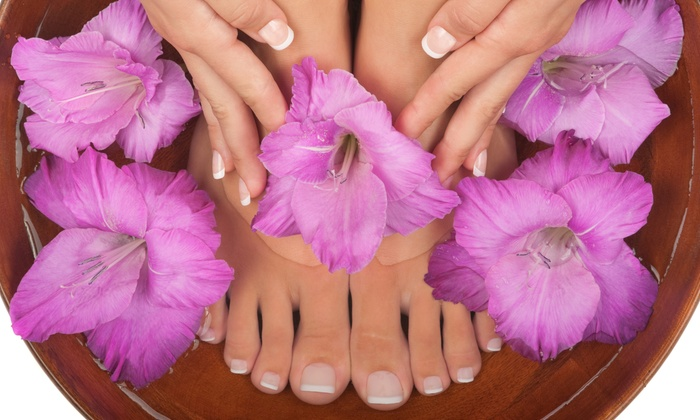 Nails by Design at Salon Junction - Junction City: $17 for a Manicure with Gel Polish at Nails by Design at Salon Junction ($35 Value)