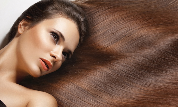 Vanity Salon and Spa - Nashville: Keratin Treatment with Optional Haircut and Style at Vanity Salon and Spa (Up to 67% Off)