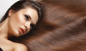 Vanity Salon and Spa: Keratin Treatment with Optional Haircut and Style at Vanity Salon and Spa (Up to 67% Off)